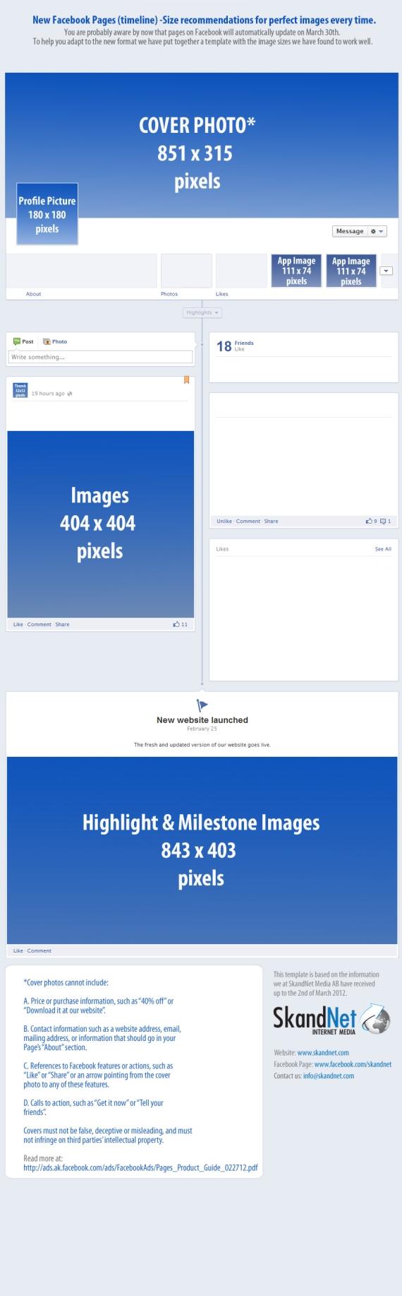 tamaño facebook